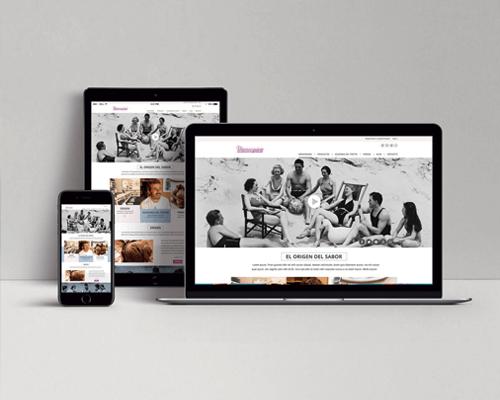 Diseño Web La Menorquina